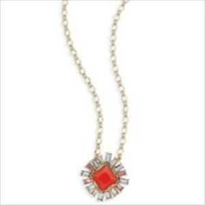 Chloe and Isabel Coral Cluster Pendant Necklace